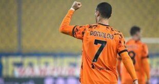 رکورد جدید رونالدو در سری A با گلزنی مقابل پارما